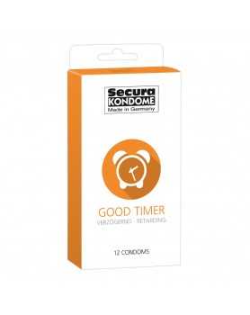 Secura Kondome Good Timer Delay x12 Condoms