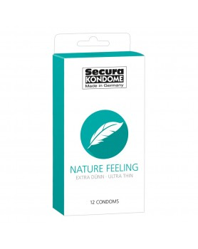 Secura Kondome Nature Feeling Ultra Thin x12 Condoms