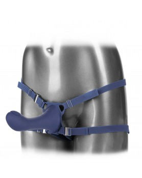 Her Royal Harness Me2 Thumper Strap On With Rechargeable Vibe